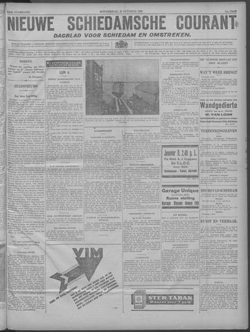 Nieuwe Schiedamsche Courant 1929-10-31
