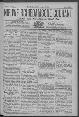 Nieuwe Schiedamsche Courant 1909-11-11