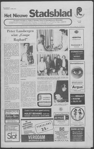 Het Nieuwe Stadsblad 1973-04-11