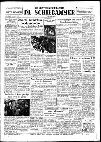 Rotterdamsch Parool / De Schiedammer 1947-09-11
