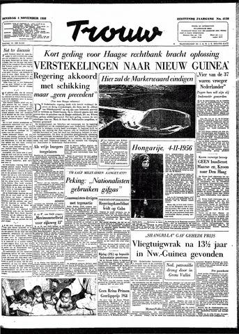 Trouw / De Rotterdammer 1958-11-04