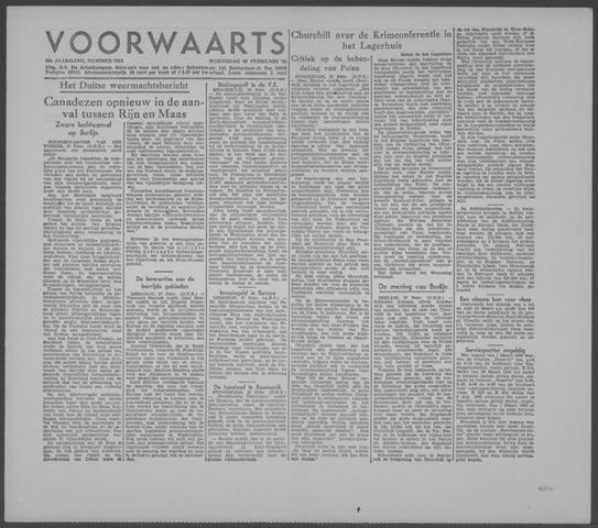 Voorwaarts 1945-02-28