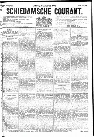 Schiedamsche Courant 1908-08-08