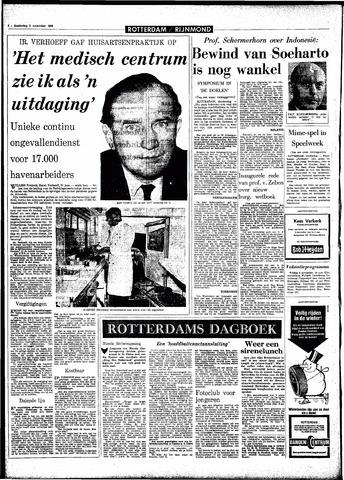 Rotterdamsch Parool / De Schiedammer 1966-11-03