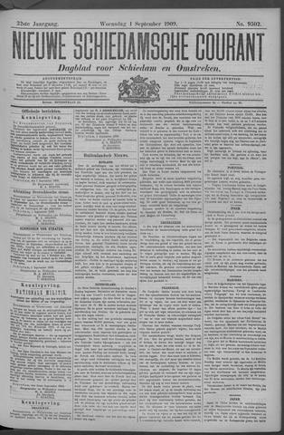 Nieuwe Schiedamsche Courant 1909-09-01