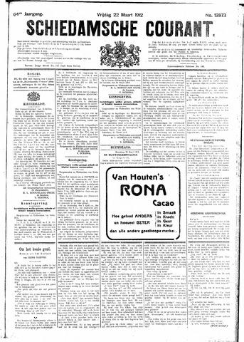 Schiedamsche Courant 1912-03-22