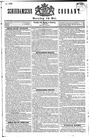 Schiedamsche Courant 1862-05-19