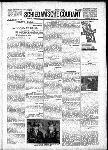 Schiedamsche Courant 1935-01-07