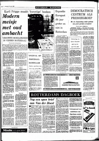 Rotterdamsch Parool / De Schiedammer 1966-03-30