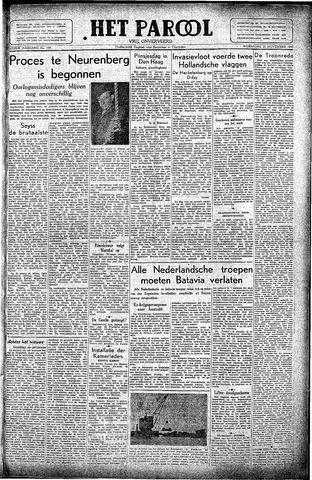 Rotterdamsch Parool / De Schiedammer 1945-11-21