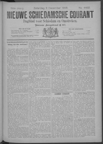Nieuwe Schiedamsche Courant 1892-12-03