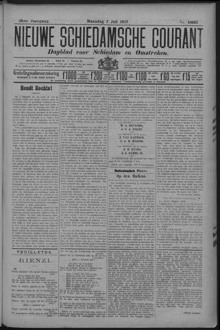 Nieuwe Schiedamsche Courant 1913-07-07
