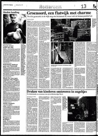 Rotterdamsch Nieuwsblad / Schiedamsche Courant / Rotterdams Dagblad / Waterweg / Algemeen Dagblad 1991-07-20