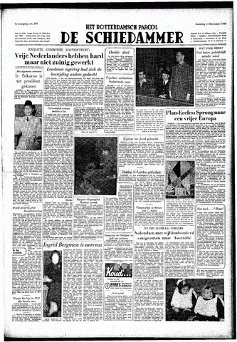 Rotterdamsch Parool / De Schiedammer 1949-12-17
