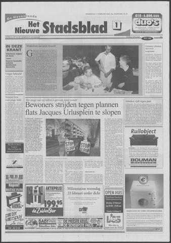 Het Nieuwe Stadsblad 2000-02-17