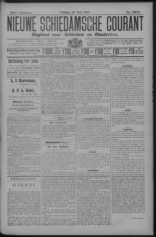 Nieuwe Schiedamsche Courant 1913-06-20