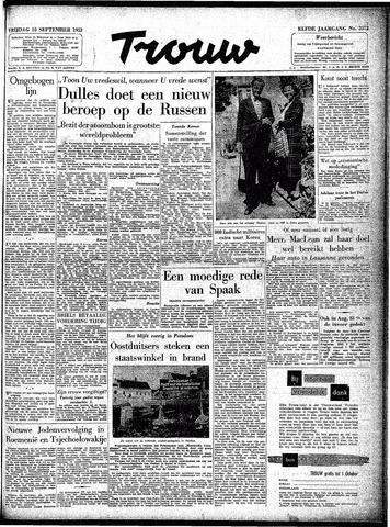 Trouw / De Rotterdammer 1953-09-18