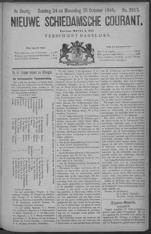 Nieuwe Schiedamsche Courant 1886-10-25