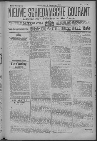 Nieuwe Schiedamsche Courant 1918-08-08