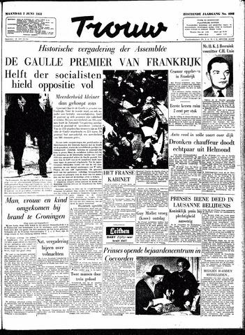 Trouw / De Rotterdammer 1958-06-02