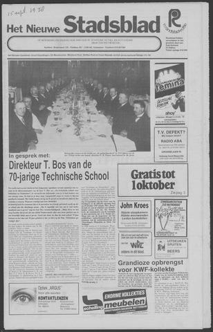 Het Nieuwe Stadsblad 1978-09-15