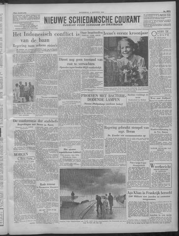 Nieuwe Schiedamsche Courant 1949-08-04