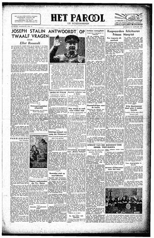 Rotterdamsch Parool / De Schiedammer 1947-01-21