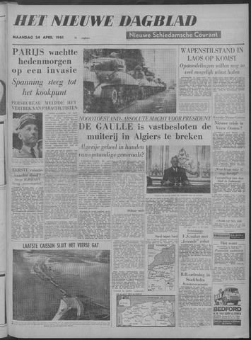 Nieuwe Schiedamsche Courant 1961-04-24