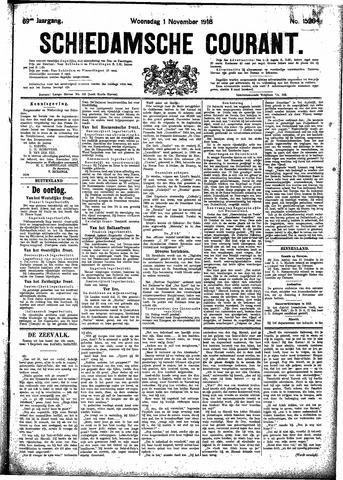 Schiedamsche Courant 1916-11-01