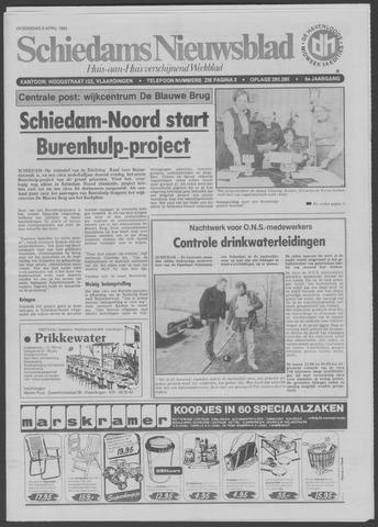 Schiedams Nieuwsblad 1983-04-06