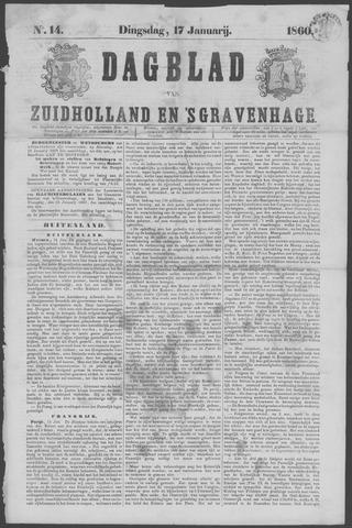 Dagblad van Zuid-Holland 1860-01-17