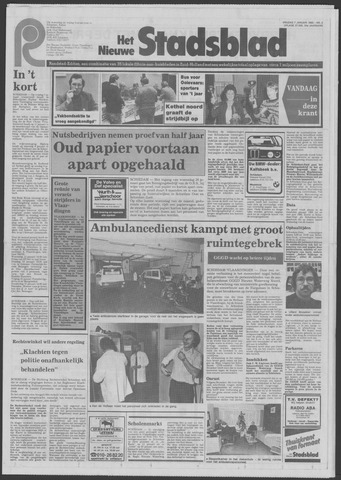 Het Nieuwe Stadsblad 1983-01-07