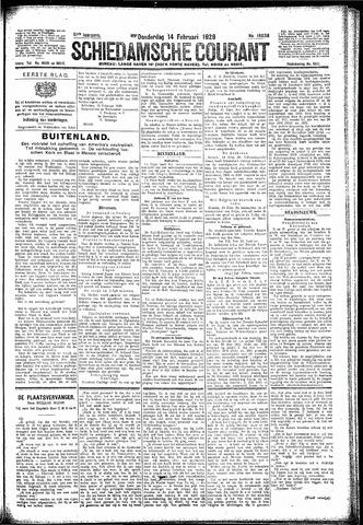 Schiedamsche Courant 1929-02-14