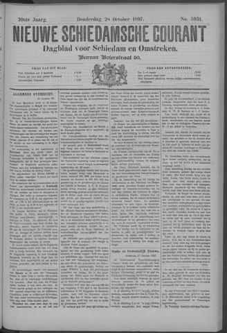 Nieuwe Schiedamsche Courant 1897-10-28