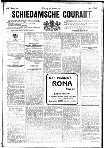 Schiedamsche Courant 1912-03-15