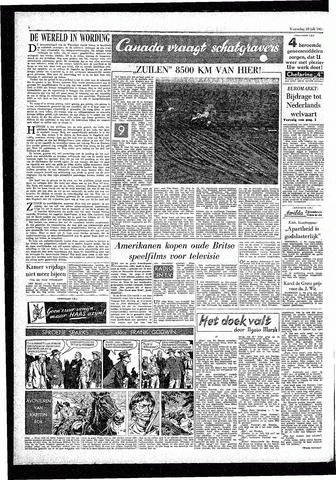 Rotterdamsch Parool / De Schiedammer 1957-07-10