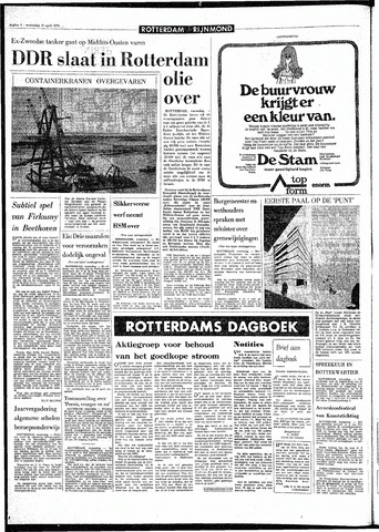 Rotterdamsch Parool / De Schiedammer 1970-04-15