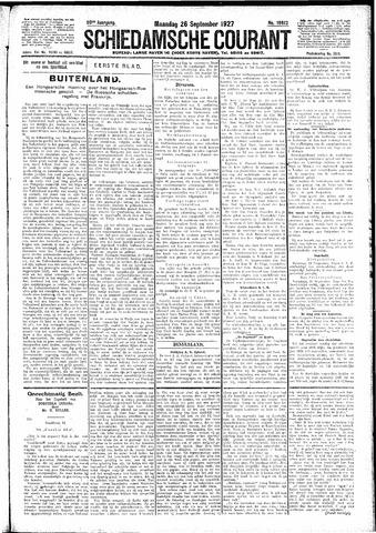 Schiedamsche Courant 1927-09-26