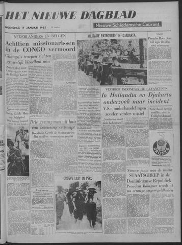 Nieuwe Schiedamsche Courant 1962-01-17