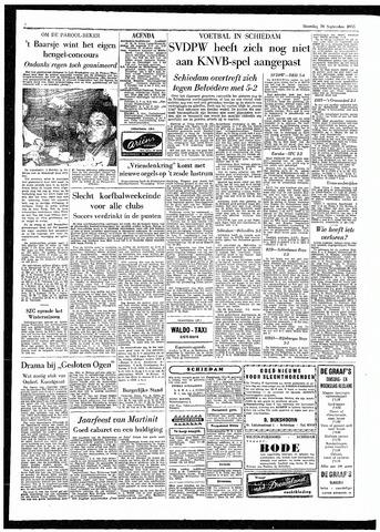 Rotterdamsch Parool / De Schiedammer 1955-09-26