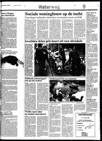 Rotterdamsch Nieuwsblad / Schiedamsche Courant / Rotterdams Dagblad / Waterweg / Algemeen Dagblad 1991-06-10