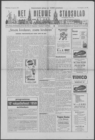 Het Nieuwe Stadsblad 1959-08-12