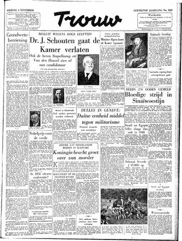 Trouw / De Rotterdammer 1955-11-04