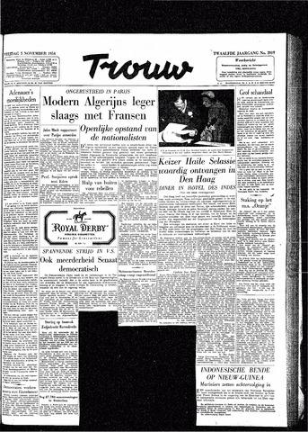 Trouw / De Rotterdammer 1954-11-05