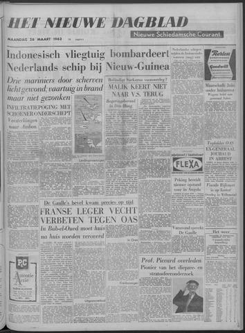 Nieuwe Schiedamsche Courant 1962-03-26