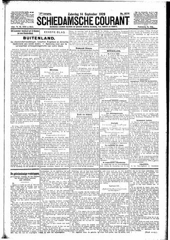 Schiedamsche Courant 1929-09-14