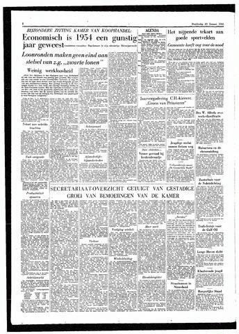 Rotterdamsch Parool / De Schiedammer 1955-01-20