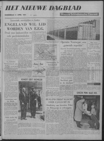 Nieuwe Schiedamsche Courant 1961-04-06