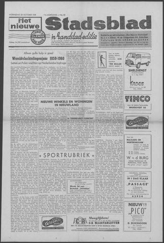 Het Nieuwe Stadsblad 1959-10-28