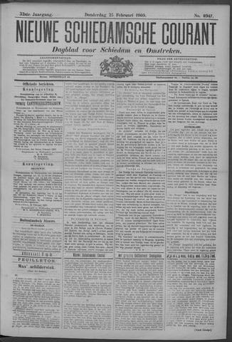 Nieuwe Schiedamsche Courant 1909-02-25